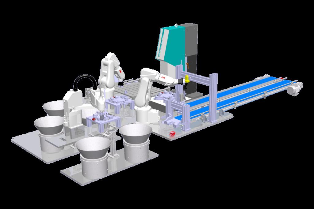 Naprava za ultrazvočno varjenje - 2d izris
