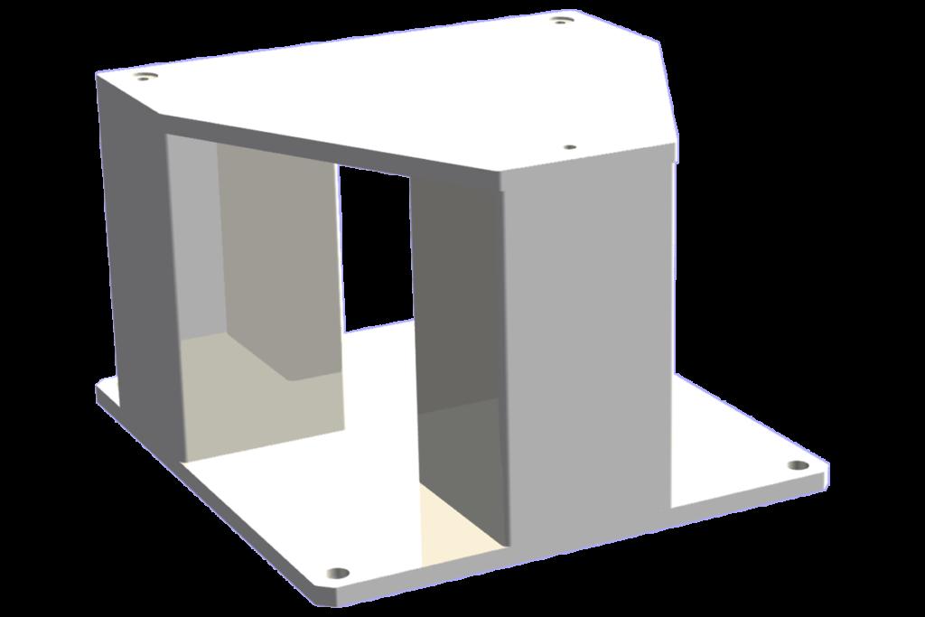 železna konstrukcija - robotski podstavek